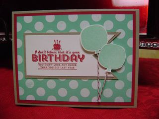 Birthday Sale-a-bration blog card